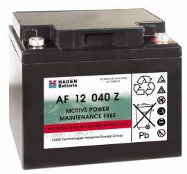 AGM wartungsfr. Blockbatterie 12V/40Ah(C5)