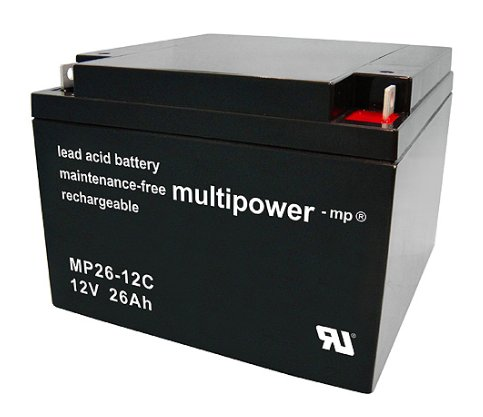 multipower Batterie 12V/26 Ah(C20)