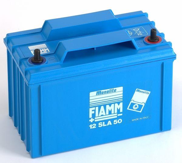 FIAMM verschlossene Batterie 12V/50Ah (C10)
