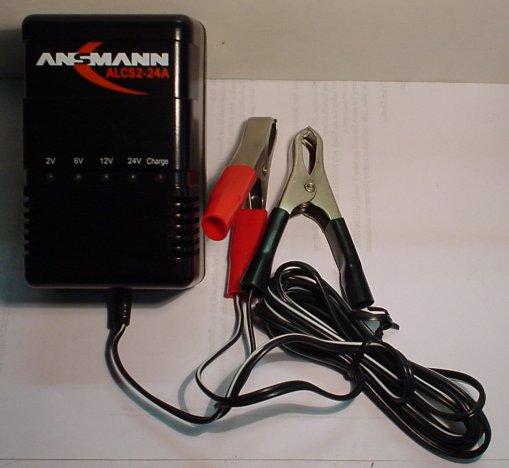 Automatik-Ladegerät für Blei-Akkus