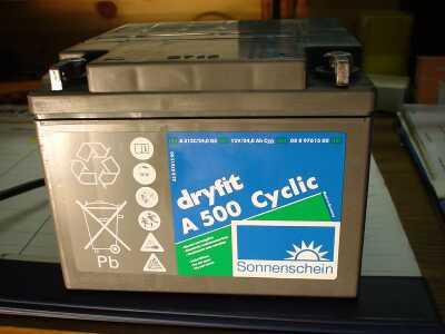 SONNENSCHEIN dryfit Batterie 12V/24Ah (C20)