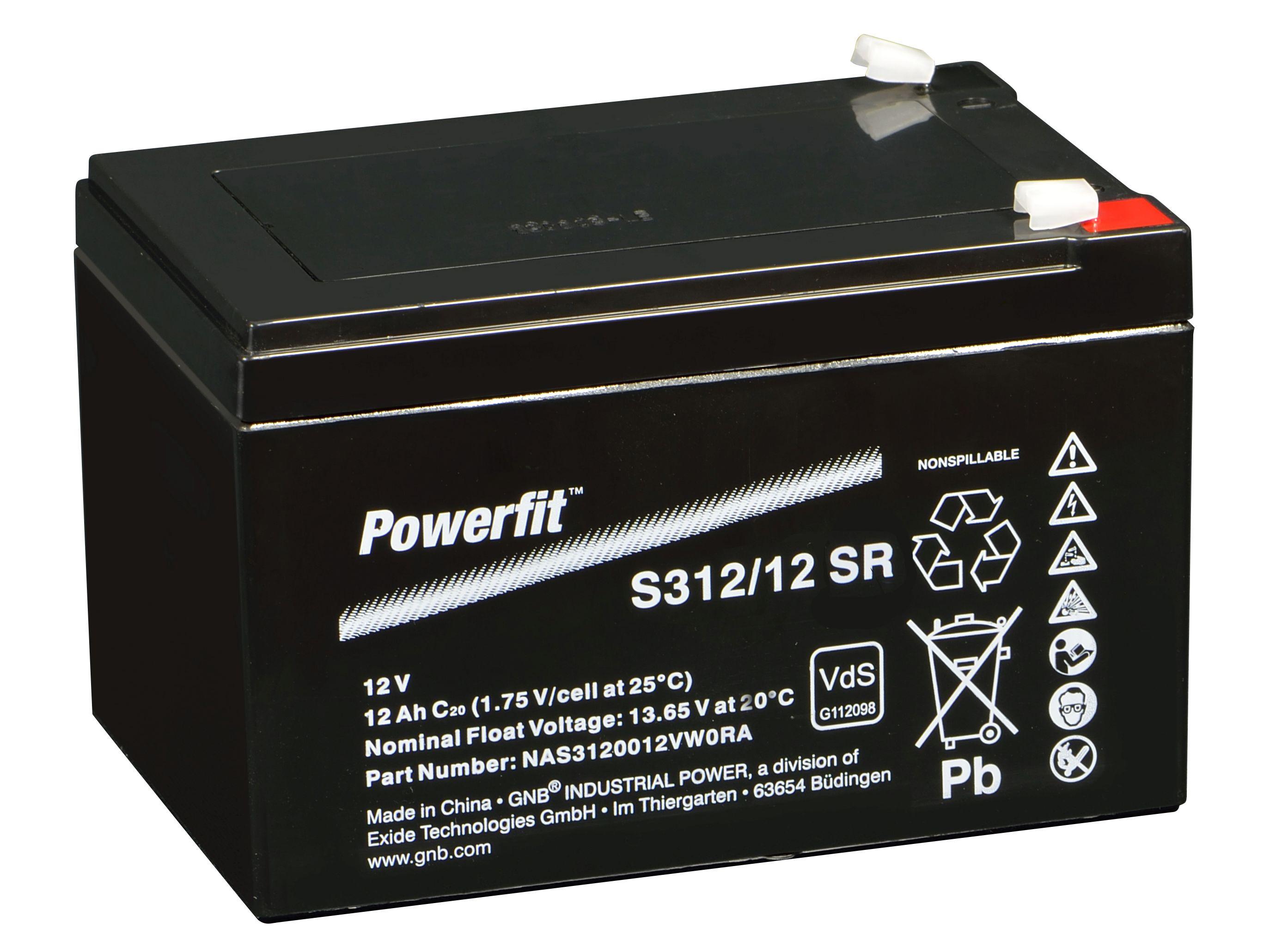 EXIDE powerfit VdS 12V12Ah(C20)