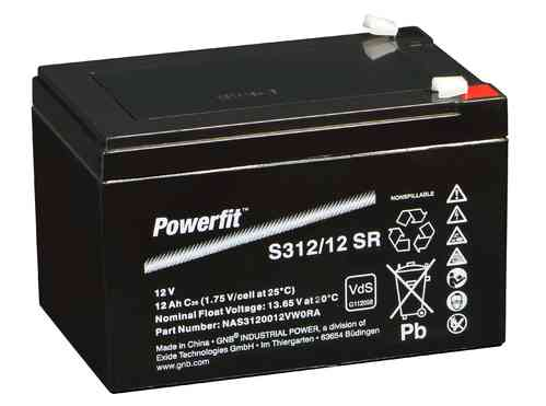 EXIDE Powerfit S312/12 SR 12V/12Ah