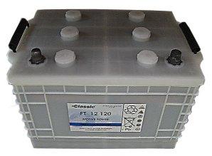Nasse Blockbatt.-PzS-Platten 12V/120 Ah(C5)