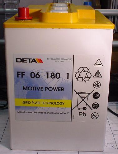 EXIDE drivemobil Traktion 6V/180 A(C5)