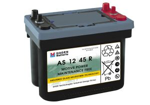 AGM Blockbatterie mit Wickelelektroden