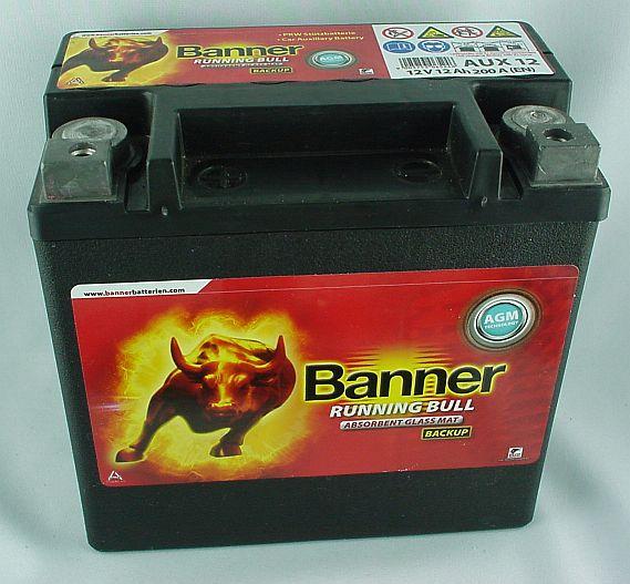 Banner Backup 12V/12 Ah(C20)