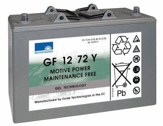 SONNENSCHEIN dryfit Batterie 12V/80Ah(C20)