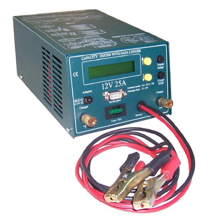 Batteriekapazitätstester