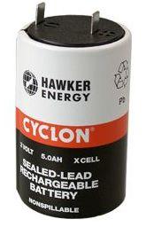 ENERSYS CYCLON Bleirundzelle 2V/5 Ah