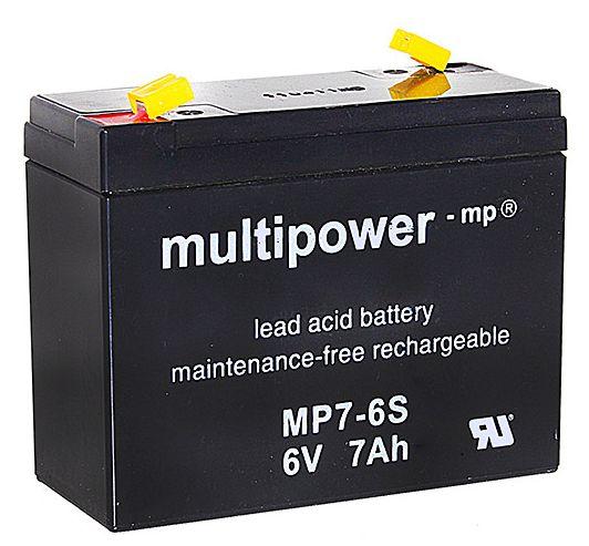 multipower Batterie 6V/7 Ah(C20)