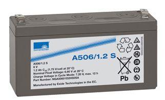SONNENSCHEIN dryfit Batterie 6V/1,2Ah(C20)