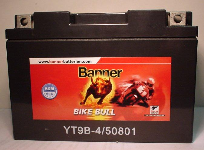 Motorradbatterie 12V/8 Ah(C10)