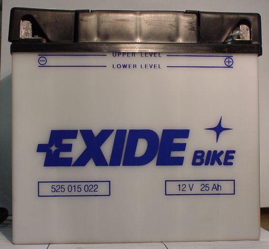 Motorradbatterie 12V/25Ah(C20)