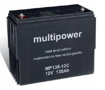 multipower Batterie 12V/135 Ah(C20)