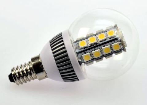 LED-Leuchtmittel, Mini Globe 50mm