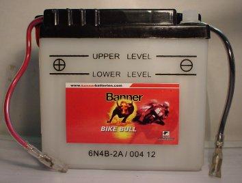 Motorradbatterie 6V/4Ah(C20)