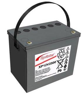 Sprinter XP Batterie 12V/69,5 Ah(C10)
