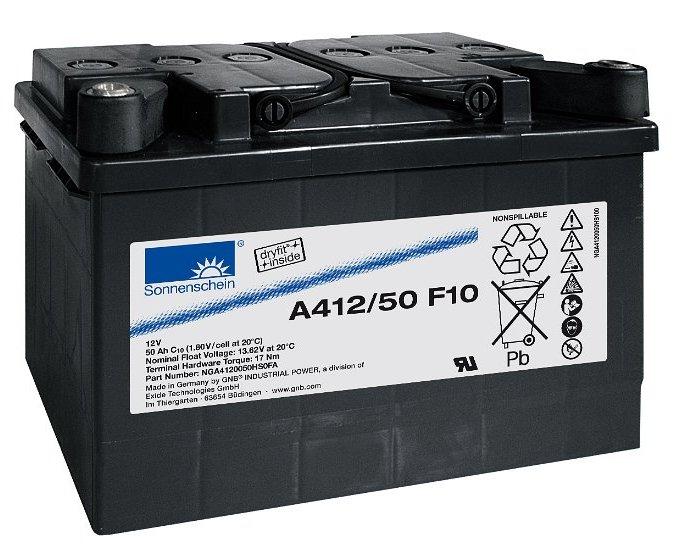 SONNENSCHEIN dryfit Batterie 12V/50Ah(C10)