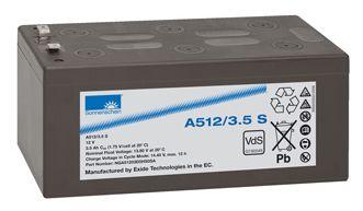 SONNENSCHEIN dryfit Batterie 12V/3,5Ah(C20)