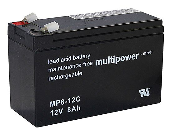 multipower Batterie 12V8 Ah(C20)