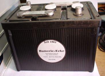 Starterbatterie 6V/112 Ah(C20)