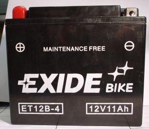 Motorradbatterie 12V/10 Ah(C20)