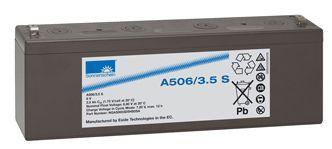 SONNENSCHEIN dryfit Batterie 6V/3,5Ah(C20)