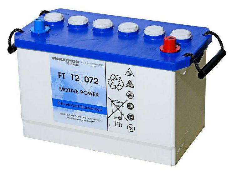Nasse Blockbatt.-PzS-Platten 12V/72 Ah(C5)