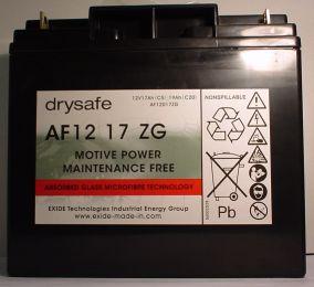 AGM wartungsfr. Blockbatterie 12V/17 Ah(C5)