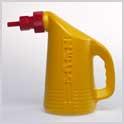 Wasserfüllflasche Füllmenge 2 L