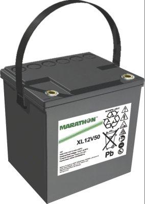 Marathon XL Batterie 12V/50,4 Ah (C10)