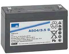 SONNENSCHEIN dryfit Batterie 4V/3,5Ah