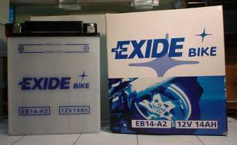 Motorradbatterie 12V/14Ah