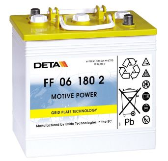 EXIDE drivemobil  Traktionsbatterie