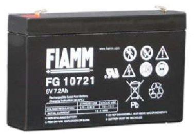 FIAMM veschlossene Bleibatterie 6V/7,2Ah(C20)