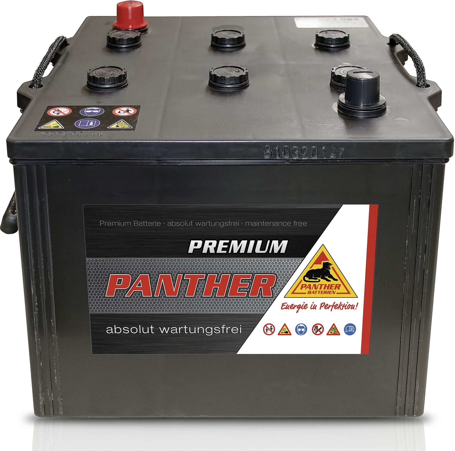 starterbatterie panther premium 62523 12v 125 ah. Black Bedroom Furniture Sets. Home Design Ideas