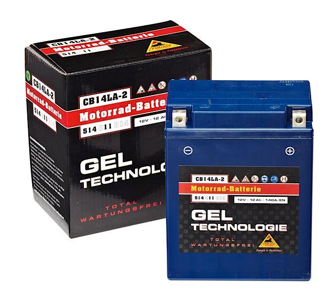 motorradbatterie panther gel51411 12v 14 ah batterie. Black Bedroom Furniture Sets. Home Design Ideas